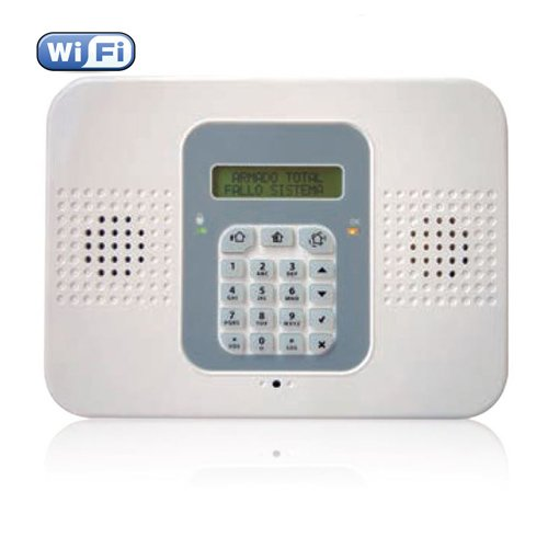 Kit Alarma CommPact / Secuplace WIFI . Central + 2 PIR Pet + 1 Contacto magnetico + 1 Mando