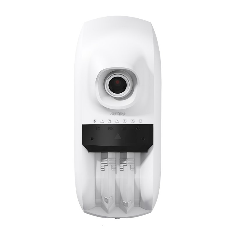 Detector PIR WIFI-Ethernet de Interior / Exterior Paradox HD88. Video y audio HD. Direccionable BUS