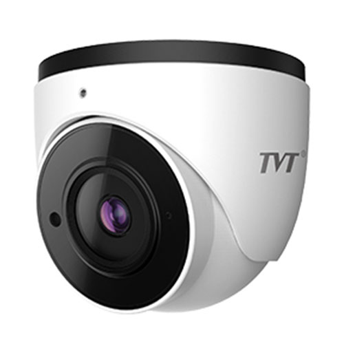 Cámara Domo TVT IP 4MP 2.8mm IR 30m IP67 MIC