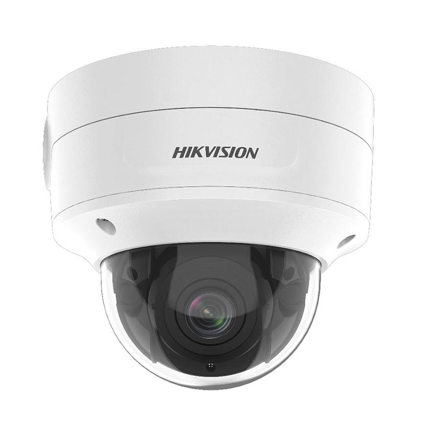 Cámara IP Domo 2MP Varifocal 2.8-12 mm IR40m E/S Audio-Alarma Acusense DarkFighter Hikvision