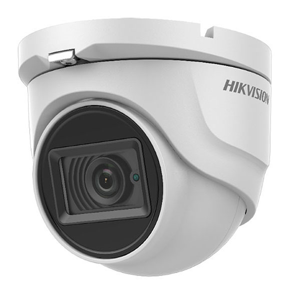 Cámara Domo 5MP 2.8mm 4en1 Ultra Low Light IP67 IR30m Hikvision