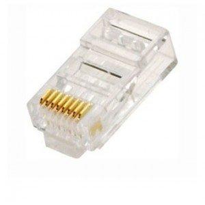 Connecteur RJ45 Cat6e pour câble de réseau